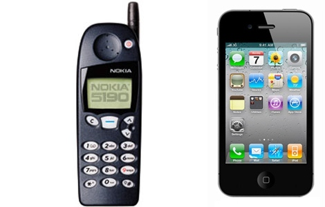 Nokia versus iPhone http://sottyreview.files.wordpress.com/2012/03/nokia5190-horz.jpg