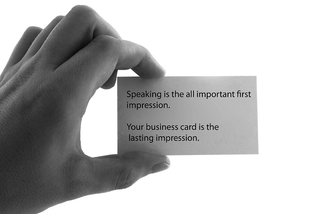 Top 4 Business Card Faux Pas