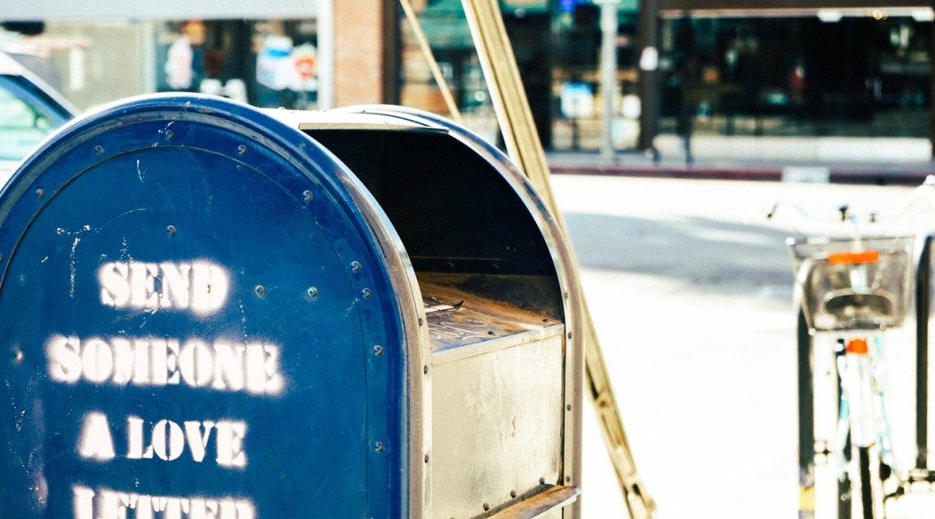 Love Letter. Photo by: https://www.pexels.com/photo/letter-mail-mailbox-postbox-4943/