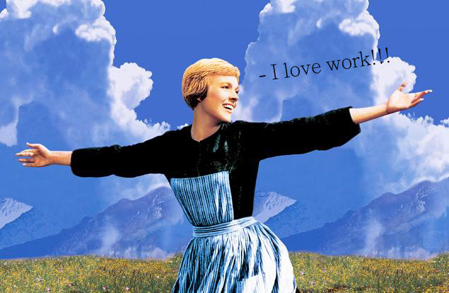 i love work photo by sound of music bring work home home