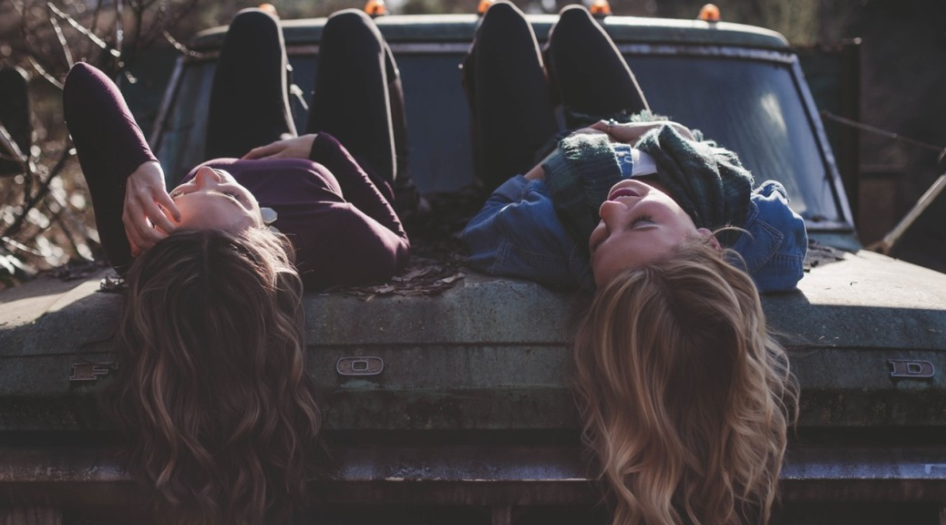 Stop Girl on Girl Hate. Photo by: https://www.pexels.com/photo/women-sisters-friends-young-42389/