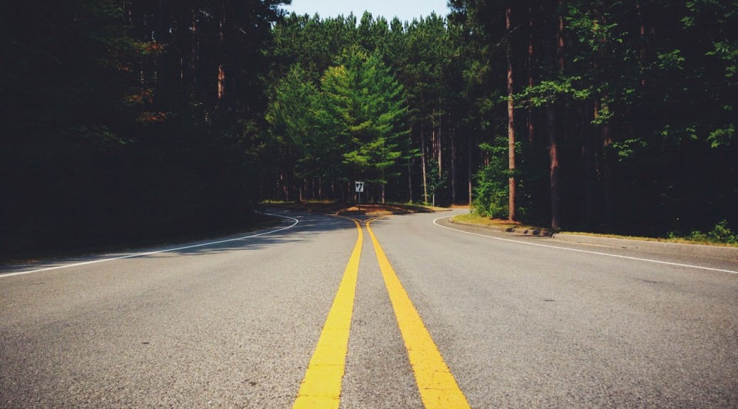 Choose Peace - Photo by: https://www.pexels.com/photo/road-lines-symmetry-fork-6754/